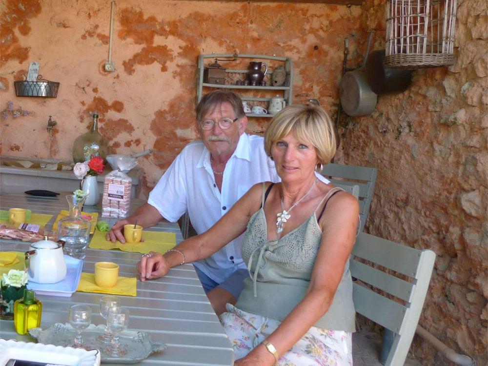 Chambres d'Hôtes Cotignac : Yollande & Jean-Claude