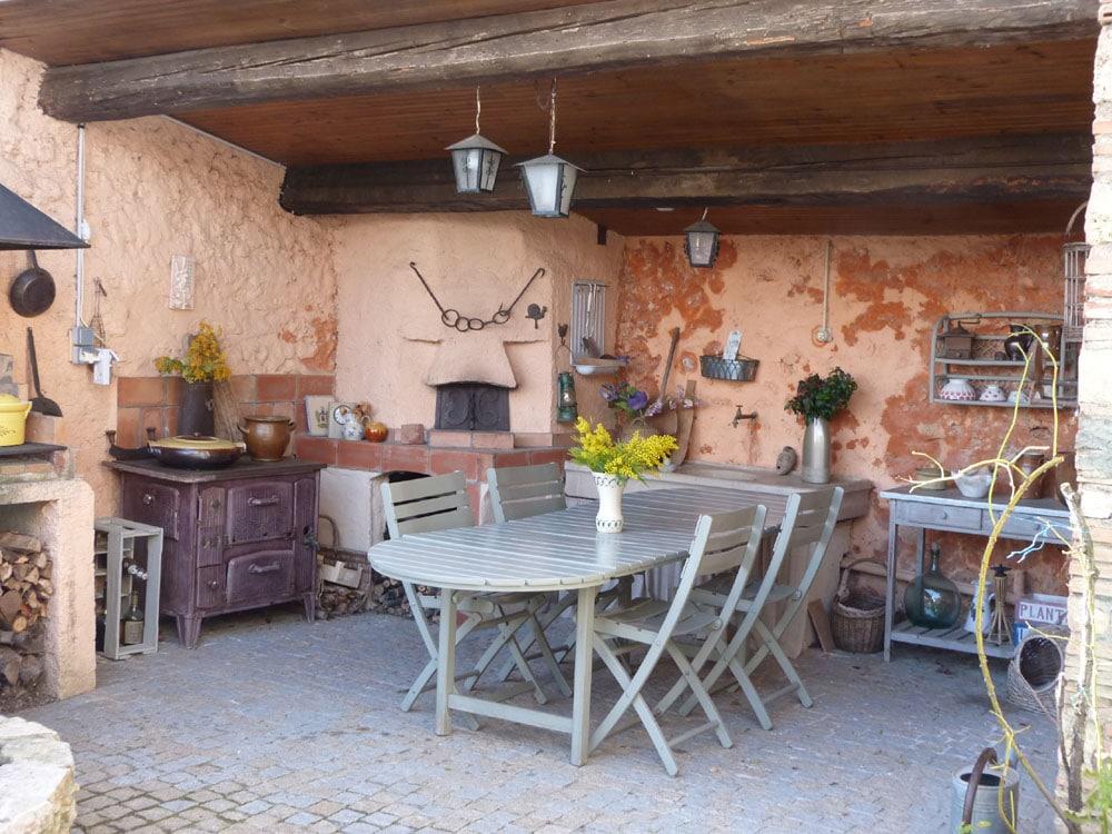 Chambres d'Hôtes Cotignac Table d'Hôtes 1