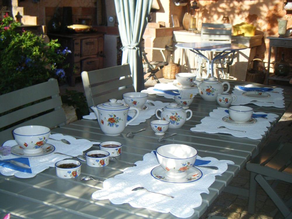 Chambres d'Hôtes Cotignac Table d'Hôtes 20