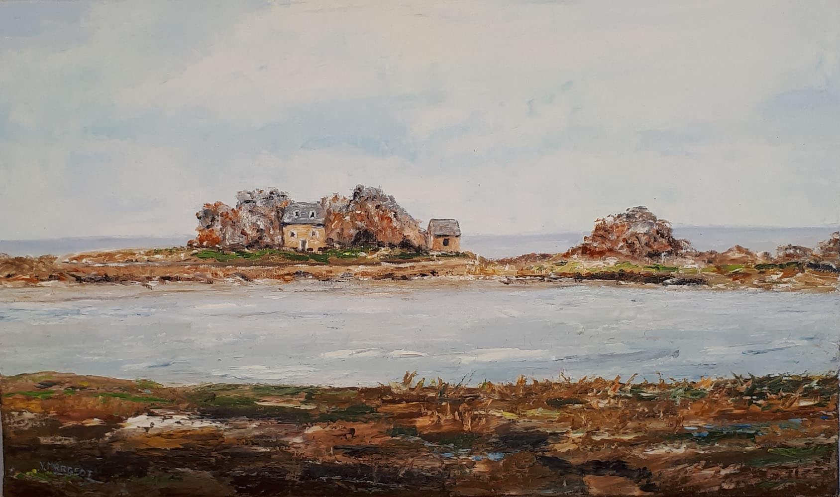 Yollande MARGEOT, artiste-peintre Cotignac : La Bretagne